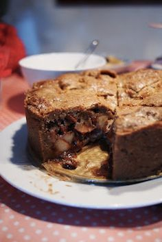Martha Would Be Proud: Recipes and Tasty Things: Famous 'Winkel' Dutch Apple Pie