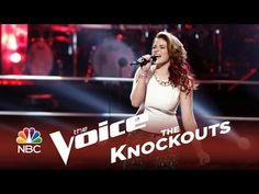 15 yr old Reagan James in the Voice Knockouts (S7), singing a cover of Blu Cantrell's Hit 'Em Up Style.