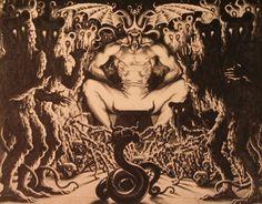 old satanic art.