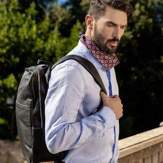 Mens Italian Leather Backpack - Handmade in Italy