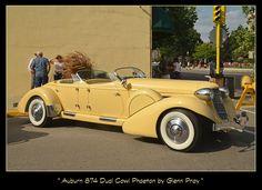 Auburn 874 Dual Cowl Phaeton by Glenn Pray