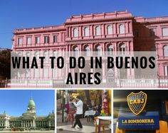 What to do in Buenos Aires 3 days