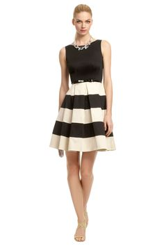 adorable striped party dress! This is too cute :) Kate Spade