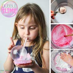 Easy 3-Ingredient Fluffy Slime