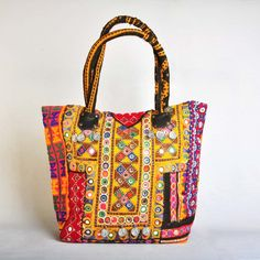 Embroidered Banjara Bag Tadpole Handbags Designer Women Fashion Tote Onlineping