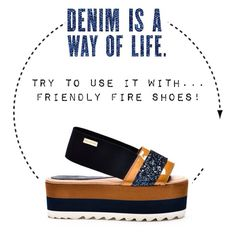 Friendly Fire! Denim is a way of life...  Find more at glammy.pt, instagram and facebook ☺️
