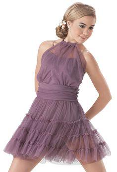 Weissman   Soft Tulle Pettiskirt Dress