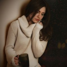 Turtle Neck, Pullover, Portrait, Sweaters, Fashion, Moda, Headshot Photography, Sweater