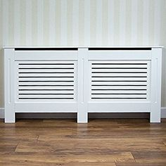 Home Discount Milton Radiator Cover Modern White Painted MDF Cabinet, Medium: Amazon.co.uk: Kitchen & Home