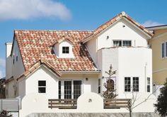 アンティークが似合う自然素材のぬくもりいっぱいの家
