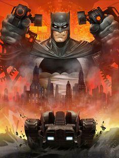 Batman by Dave Wilkins *