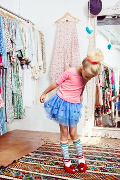 mim 1602 Blue party skirt