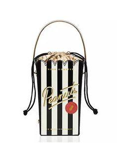 flavor of the month peanuts bag - Kate Spade New York Unique Handbags, Unique Purses, Purses And Handbags, Mk Handbags, Kate Spade Handbags, Kate Spade Purse, Novelty Bags, Novelty Handbags, Outfit