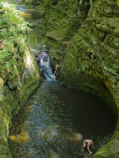 The waterfall is stunning.  Only in WI. Pewits Nest
