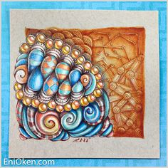 Learn to draw amazing Zentangle®️️ • enioken.com
