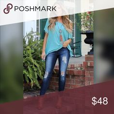 💣💣Distressed Denim Jeans💣💣 Super cute distressed mid rise ankle skinny jeans. Great quality jeans made to hug you perfectly! Comfortable as well! Jeans Skinny