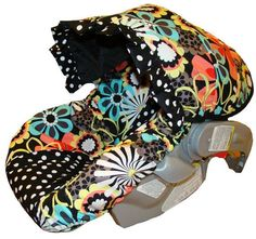 Infant Car Seat Cover  Baby Car Seat Cover  Flower by sassycovers, $69.00