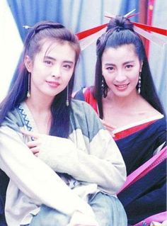 Joey Wong (Age 26) and Michelle Yeoh, 1993