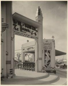"Art Deco ""Wilshire Links"" miniature golf course, 1930s"