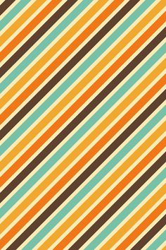 I love everything about this design and color scheme. 70's Beach.