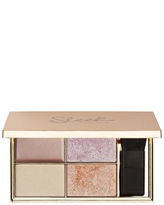 Sleek Make-UP Highlighting Palette. This versatile face and body highlighting palette suits all skin tones. Make Up Palette, Eye Palette, Highlight Palette, Makeup Goals, Beauty Makeup, Face Makeup, Eyebrow Makeup, Online Shopping, Palette