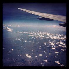 Tanzania at 35000 ft.
