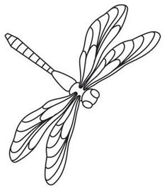 dragonflies | Urban Threads: Unique and Awesome Embroidery Designs: