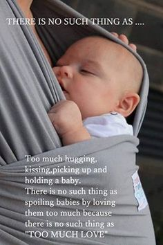 No such thing as too much love | Hot Moms Club #motherhood #love #children