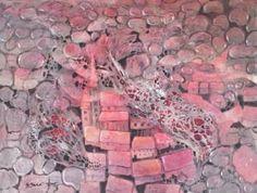 "Saatchi Art Artist Agata Padol; Painting, ""Coral Town"" #art"