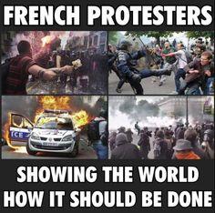 新フランス革命が進行中?さらにユーロ2016でロシア人とイギリス人まで暴徒化|世界の裏側ニュース