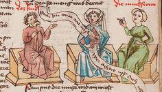 Wolfenbüttel, Herzog August Bibliothek,  Thomasin <Circlaere>   Welscher Gast (W) — Süddeutschland, 3. Viertel des 15. Jhs. Cod. Guelf. 37.19 Aug. 2° Folio 20r