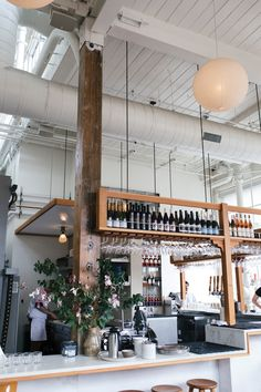 tartine manufactory - a must eat in san francisco Restaurant Concept, Restaurant Design, Restaurant Bar, Commercial Design, Commercial Interiors, Boho Bar, San Francisco Bars, Heath Ceramics, Cafe Style