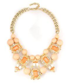 Statement Pearl Gemstone Necklace