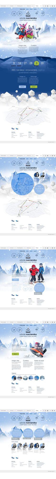 Padasnieg by Michal Galubinski. #webdesign #interactivedesign
