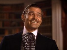 10. Rhett Butler, Gone With The Wind (1939) , played by Clark Gable