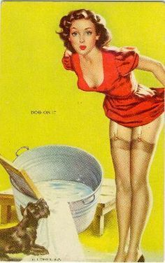 Dog On It - pin-up-girls Photo