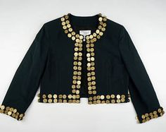 Moschino Cheap & Chic vintage jacket gold coins with hearts medallion rare authentic coat jacket size Medium -    Edit Listing  - Etsy