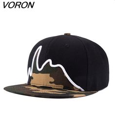 Click to Buy    VORON 2017 Zomer Camouflage Snapback Baseball Caps Mannen  Verstelbare f4025de4cb5f