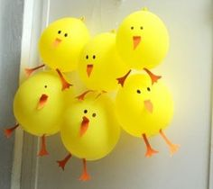 Chicks Balloons | Crafts and Worksheets for Preschool,Toddler and Kindergarten