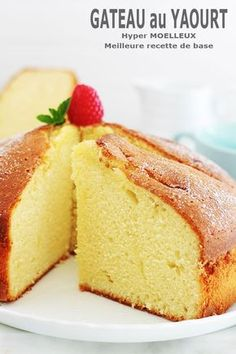 Christmas Cheesecake, Pumpkin Cheesecake, Cheesecake Recipes, Cake Glaze Recipe Powdered Sugar, Easy Cake Recipes, Dessert Recipes, Glaze For Cake, Yogurt Cake, Food Items