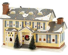 Department 56 Snow Village National Lampoon's Christmas Vacation The Griswold Holiday House Collectible Figurine - Christmas Decorations - Holiday Lane - Macy's Department 56, Christmas Village Display, Christmas Villages, Christmas Decorations, Christmas Houses, Christmas Crafts, Christmas Items, Christmas Ornaments, Christmas Figurines
