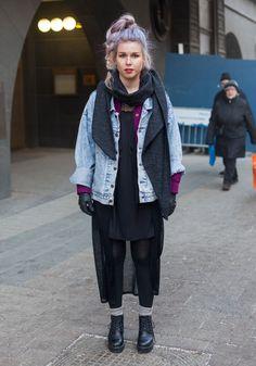 Sini-Pilvi - Hel Looks - Street Style from Helsinki