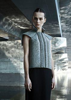 Dzhus label, launched in 2010 by Ukrainian Designer Irina Dzhus / Hint Fashion Magazine