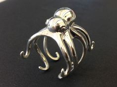 Premium Silver now available from Shapeways.com as trial until May '13. Super slick & shiny! #3dprint #sterling #silver