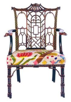 Pagoda chair...maybe a different upholstery.