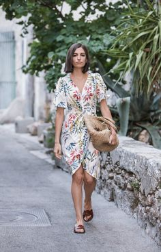 how to dress down a fancy summer dress