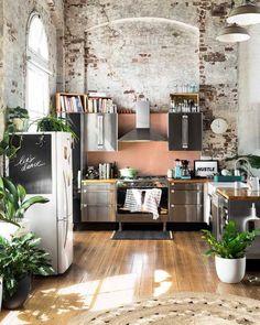 """1,477 kedvelés, 16 hozzászólás – Ashley    My Bohemian House (@mybohemianhouse) Instagram-hozzászólása: """"Stunning 🙌🏻 #kitchengoals 📷: @huntingforgeorge"""""""