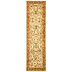 Safavieh Lyndhurst Ivory/Rust 2 ft. 3 in. x 10 ft. Runner - LNH214R-210 - The Home Depot