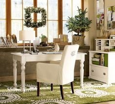 home office design Amazing. Home Decor Items. 93225820 Modern Home Office Decor. 5 Home Office Decorating Ideas Cozy Home Office, Home Office Space, Home Office Furniture, Home Office Decor, Small Office, Office Workspace, White Office, Small Workspace, Green Office