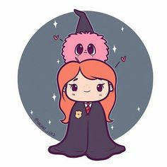 Ginny and her Pygmy Puff